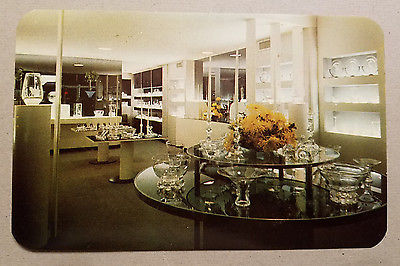Steuben Exhibition Area - Corning Glass Center Postcard
