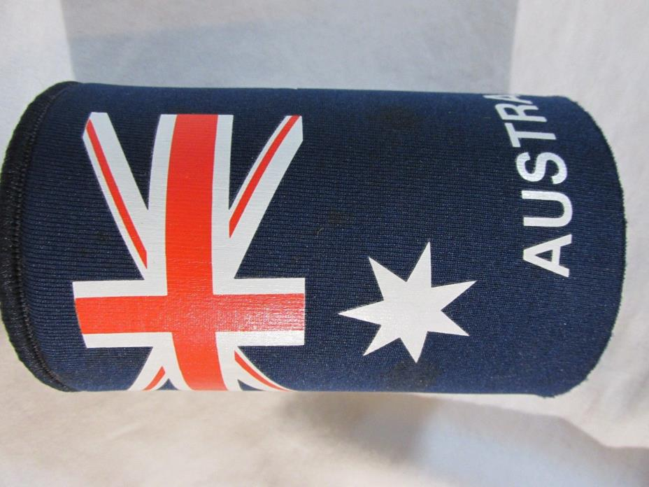 AUSTRALIA KOOZIE COOZIE BEER POP CAN BOTTLE HOLDER INSULATOR Womans Mens #16