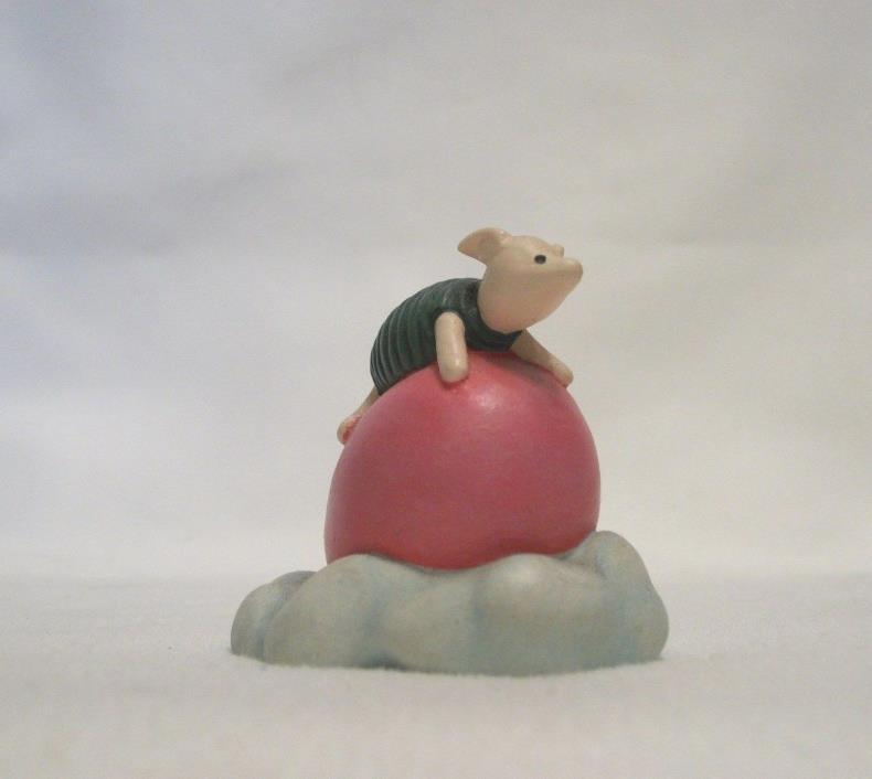 Lenox Disney Winnie the Pooh Thimble – PIGLET ON BALLOON