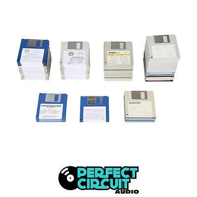 Ensoniq Mirage Sampler Sample Disk Set x 131 - VINTAGE - PERFECT CIRCUIT