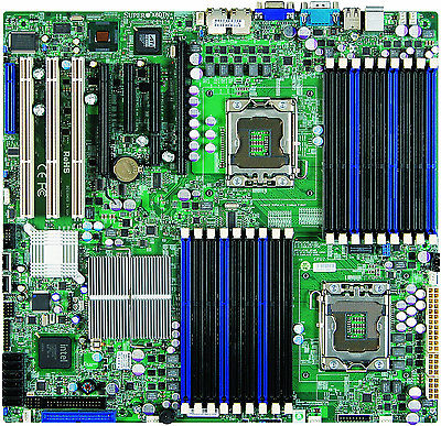 SuperMicro Computer X8DTN+, LGA 1366/Socket B, Intel Motherboard