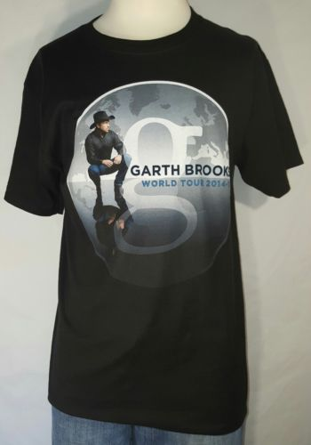 Garth Brooks Short Sleeve Shirt World Tour 2014 - 2015 Medium M