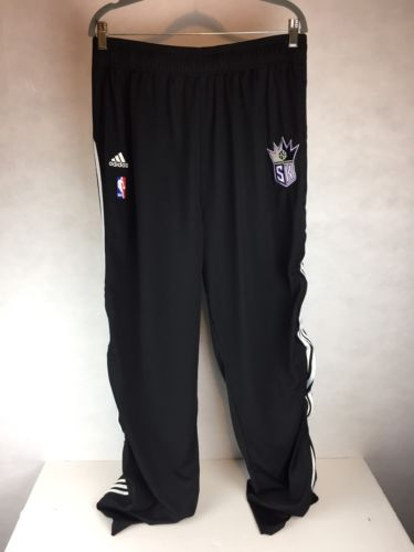 ADIDAS SACRAMENTO KINGS BASKETBALL NBA WARM UP BREAKAWAY PANTS SIZE 3XLT  + 2