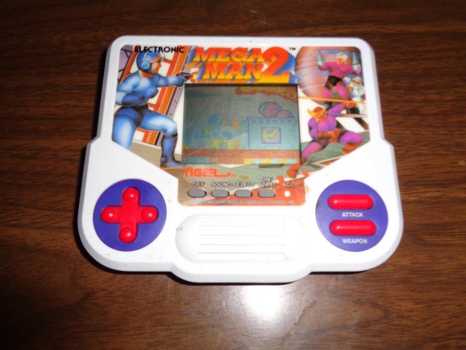 Mega Man 2 Two Tiger Electronics handheld game electronic 1988