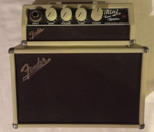 FENDER MINI TONE MASTER Portable Guitar Amplifier