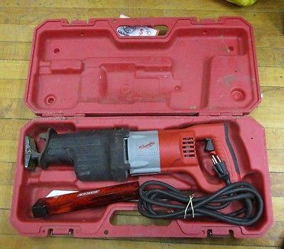 (MA5) Milwaukee 6520-21 Corded 12 Amp Reciprocating Saw