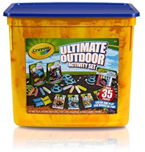 Crayola Ultimate Outdoor Activity Set, Bean Bag Toss And Obstacle Course Games,