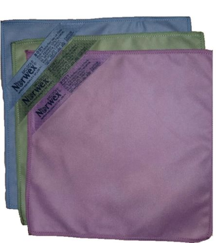 Norwex Makeup Remover Cloth Set - 3 Pack - Norwex Body Face Cloth Microsuede NEW