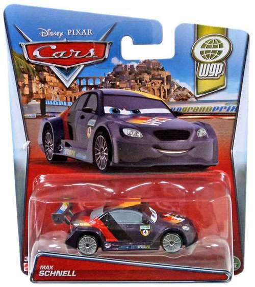 Disney Pixar Cars WGP MAX SCHNELL - FREE SHIPPING - BRAND NEW