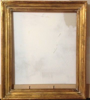 Antique Mid 19th Century Classic Lemon Gold Gilt Frame- 1860's