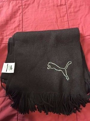 Girl's Winter Brown Puma Scarf