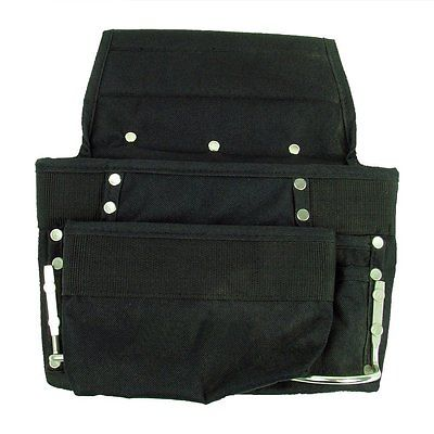 Hawk Professional Grade Black Tool Bag / Satchel