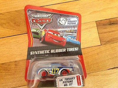 Disney Pixar The World of Cars Lil' Torquey Pistons #117 Synthetic Rubber Tires