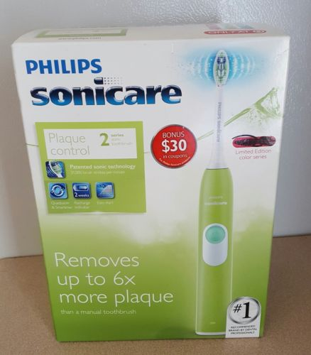 Philips Sonicare 2 Series Plaque Control Electric Toothbrush Green HX6211/99ST1
