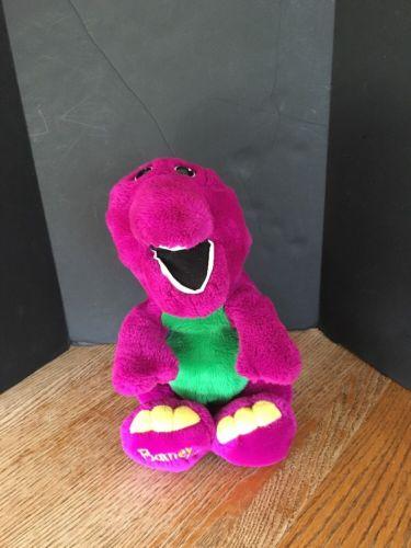 (2041) Vintage 1992 Barney Plush By Dakin