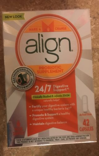 Align Probiotic Supplement 24/7 Digestive Support 6 Week Supply - 42 Count Box