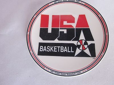 Sports Impressions  4 1/4 USA Team Basketball Logo Mini Plate  5508-02  (12)