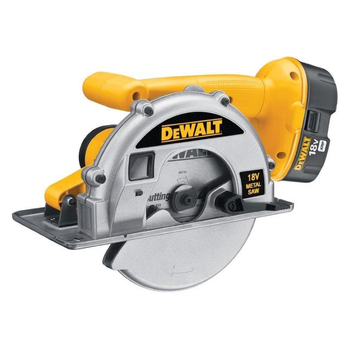 DEWALT DW934 18V XRP Metal Cutting Circular Saw - NEW