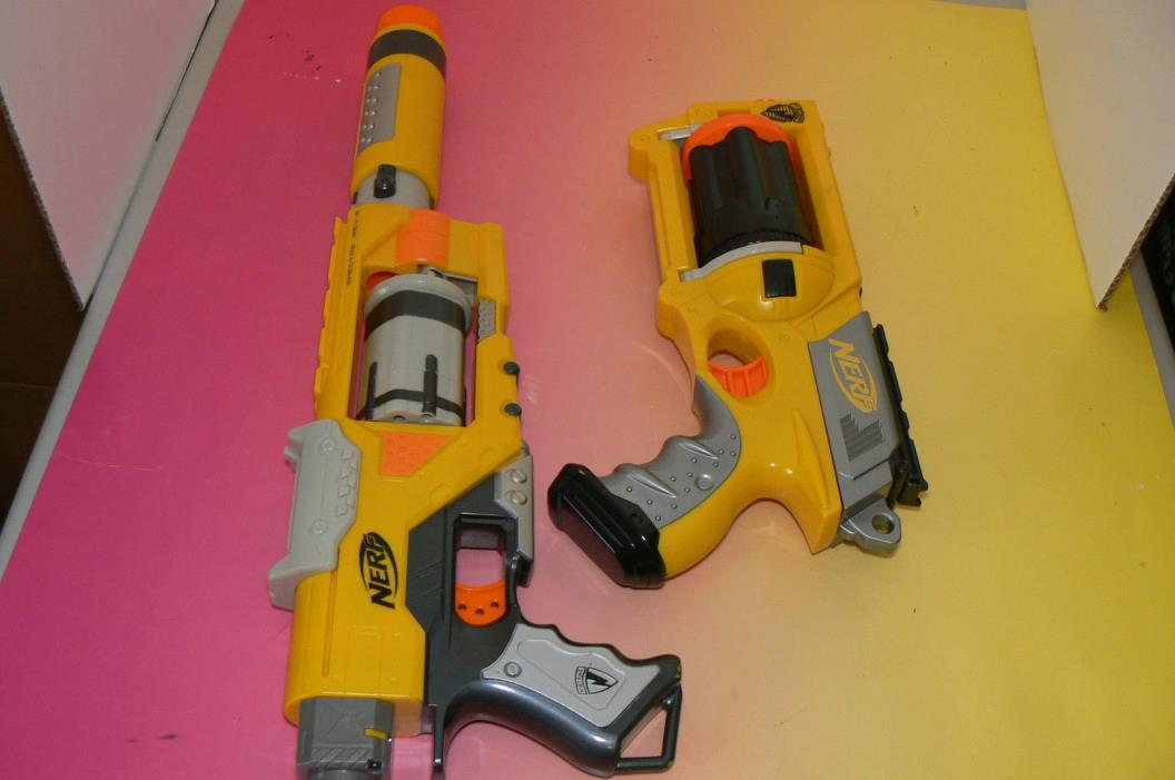 2 Nerf N Strike Maverick Rev-6 Nerf N-Strike Elite Spectre Rev-5  EUC