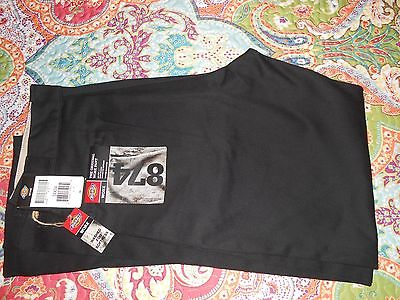 DICKIES 874 Original Work Pant Black 34 x 34 Washed for Softness NO IRON