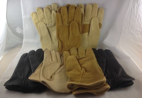 Lot of 7 WORK & DRIVING GLOVES SIZE Medium - Wells Lamont