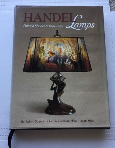 Handel Lamps Painted Shades & Glassware De Falco HIBEL 1986