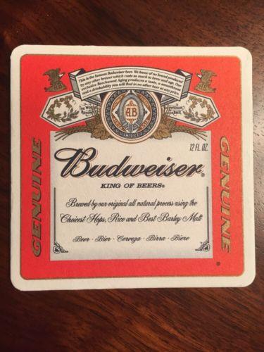 Budweiser King Of Beers 4.25