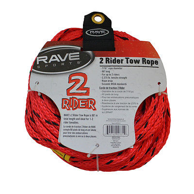 RAVE Sports 02331 2 Rider Tow Rope