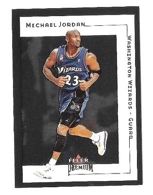 Michael Jordan 2001-02 Fleer Premium  #5 Washington Wizards