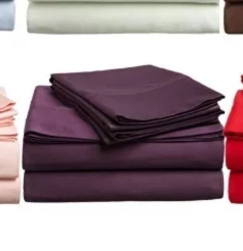 Queen Size Sheet Set Purple