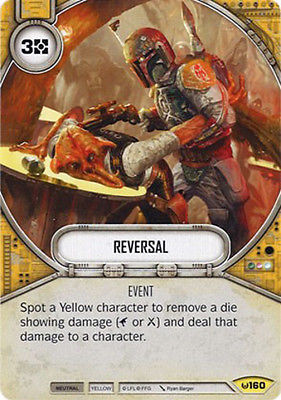 Reversal, Uncommon, Awakenings Singles  Star Wars Destiny