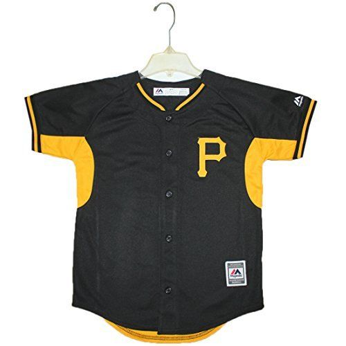 NEW Youth-PITTSBURGH PIRATES MCCUTCHEN #22 Dri-Fit Baseball Jersey-FREE SHIPPING