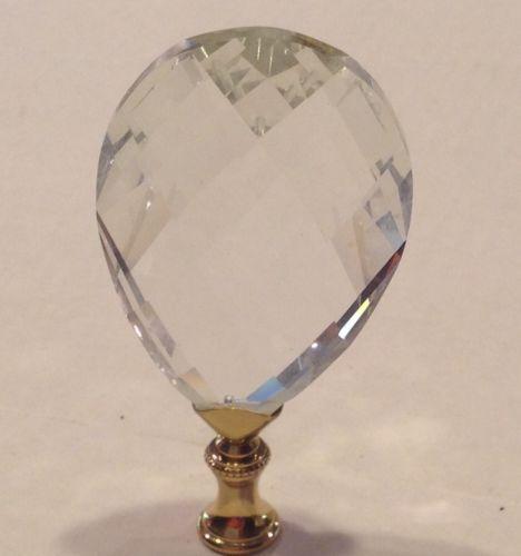 LARGE CRYSTAL LAMP SHADE FINIAL