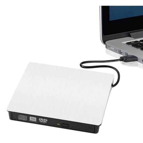 USB 3.0 Slim External DVD Burner/Writer CD Drive for Laptops and Desktops New