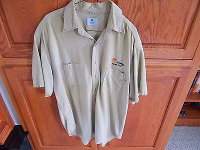 TYNDALE FLAME RESISTANT BUTTON FRONT. SIZE XL
