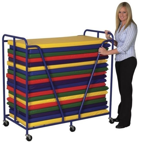 ECR4Kids Rest Mat Trolley ELR-0668 Mat Trolley NEW
