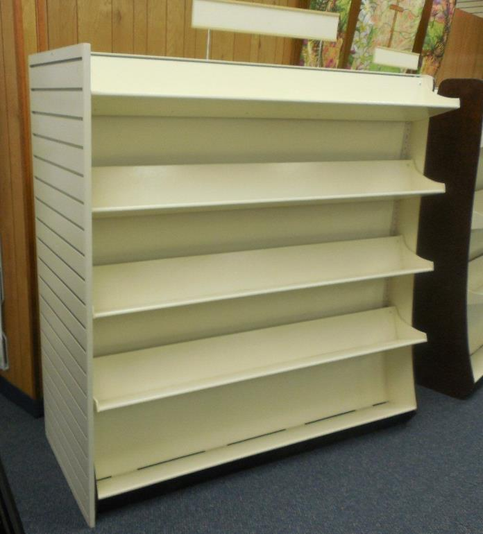 Book Shelf - Commercial - 2 Sided with Adjustable Shelves - Store Fixture