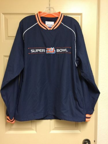Superbowl XLI pullover jacket Colts/Bears Size Medium