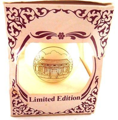 Gregg - Hamilton House Circa 1850 Limited Edition Bulb Globe Ornament in Box
