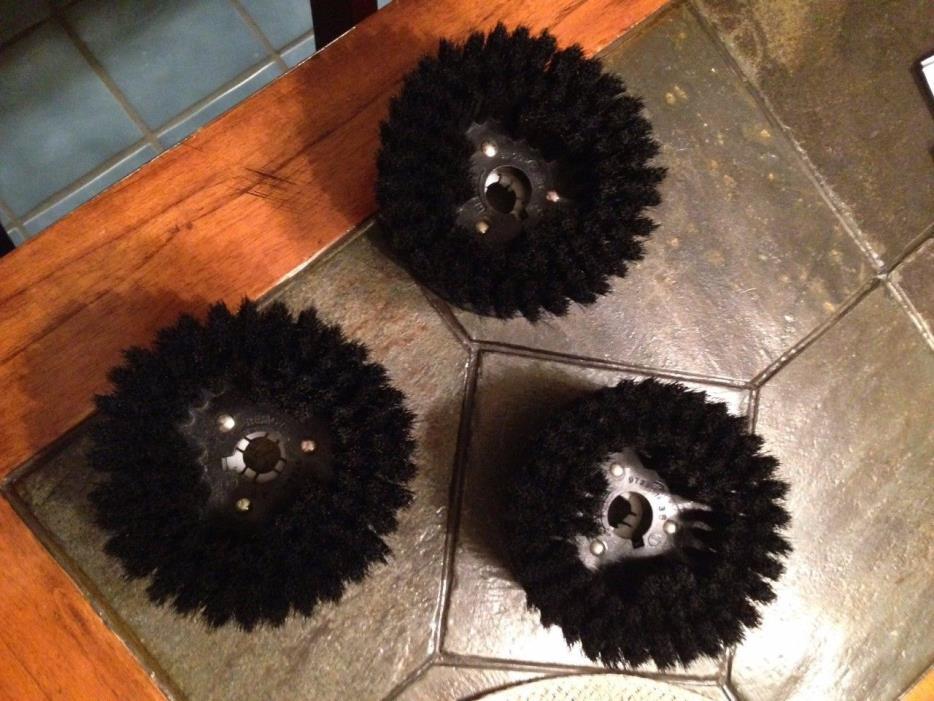 Electrolux Floor shampooer 3 Soft brush heads For Carpet epic floor pro 1522