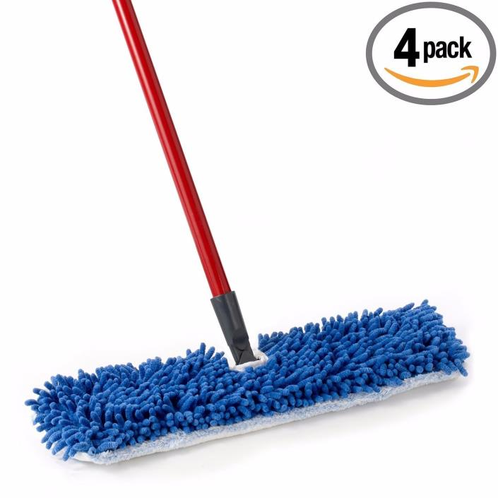 O-Cedar Dual Action Microfiber Flip Mop (Pack of 4)