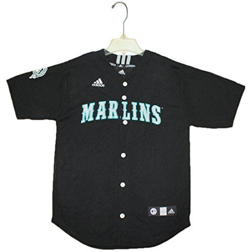 NEW Youth MLB - SEATTLE MARINERS Dri-Fit Baseball Jersey Black - FREE SHIPPING