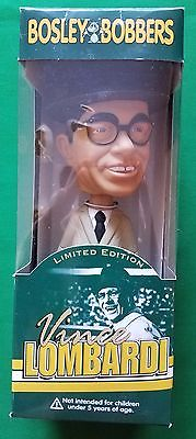 VINCE LOMBARDI GREEN BAY PACKERS BOBBLE HEAD by BOSLEY BOBBERS