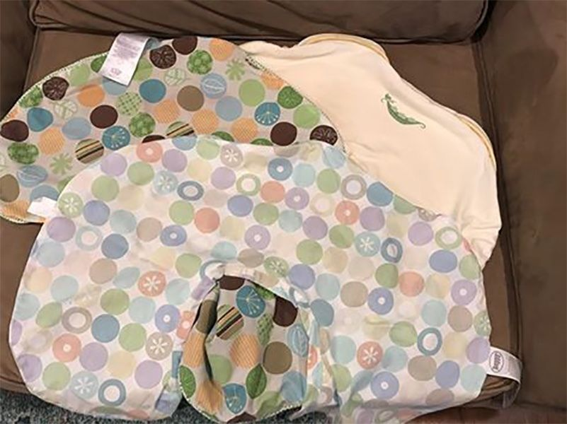 Lot of 3 Boppy Covers Unisex multi - colored