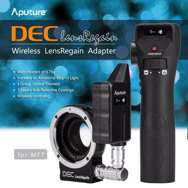 Aputure DEC LensRegain MFT Camera Adapter Wireless Focus LATEST VERSION GH5 GH4