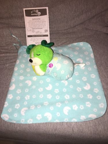 LeapFrog Twinkle Little Scout Puppy Dog Blanket Light Up Music Baby Lovey EUC