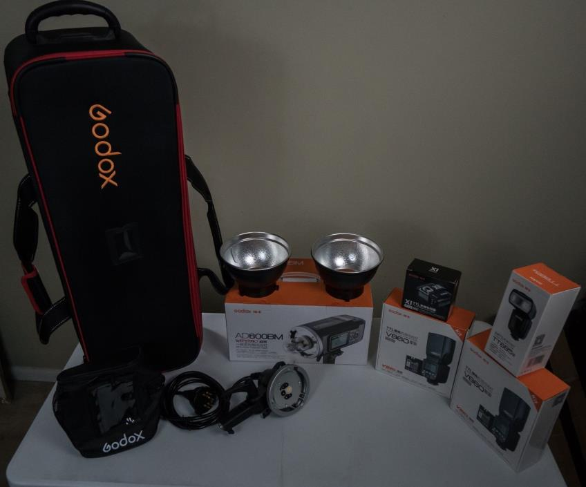 Godox AD600BM System, V860IIs x 2, TT685s, and More for the New Sony Cameras