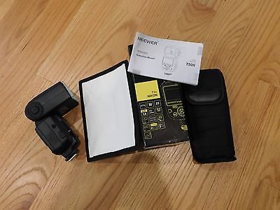 Neewer VK750II FLASH SPEEDLITE 750II For Nikon Camera