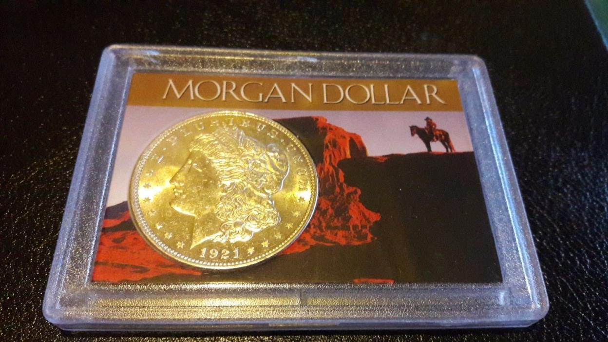 2x3 Morgan/Peace Silver Dollar Coin holder, Stores 1 coin (Coin not included)
