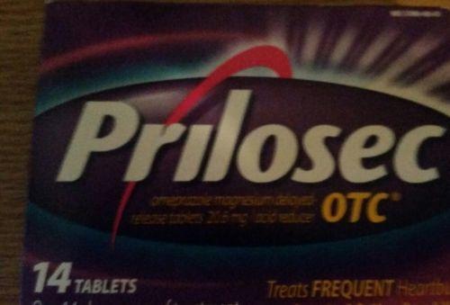 Prilosec OTC 14 Tablets Expires 1/18 NIB